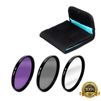 Slim CPL Circular Polarizing Camera Lens UV FLD Filter 49/52/55/58/62/67/72/77mm