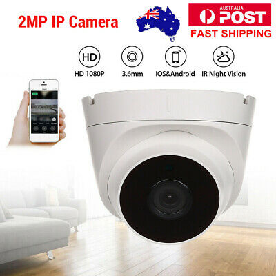 HD 1080P IP Camera Security Smart Onvif Network IR Night Vision Dome CCTV AU!