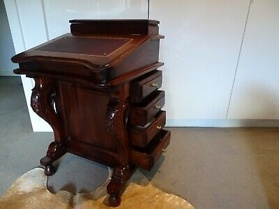 Reproduction Walnut Davenport - Beautiful Antique style