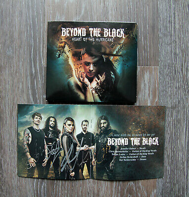 "Digipak CD Beyond the Black ""Heart of the Hurricane"" signiert"