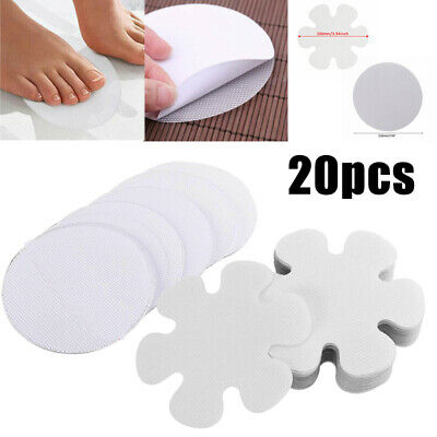 20Pcs  Large Anti Slip Bath Stickers Non Slip Pad Discs For Stair Tubs Shower UK