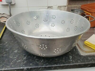 Large Alluminum Heavy Duty Catering/Commercial Colander Strainer