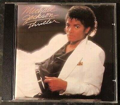 Michael Jackson Thriller Music Cd Album 1982 As Good As New Mint Condition