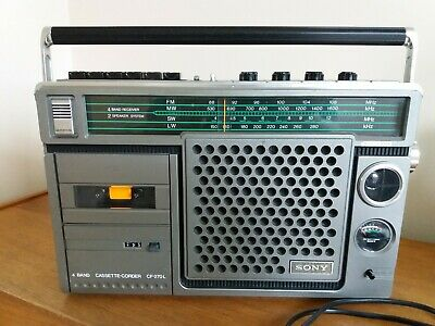 Vintage sony boombox, Sony cassette player/radio