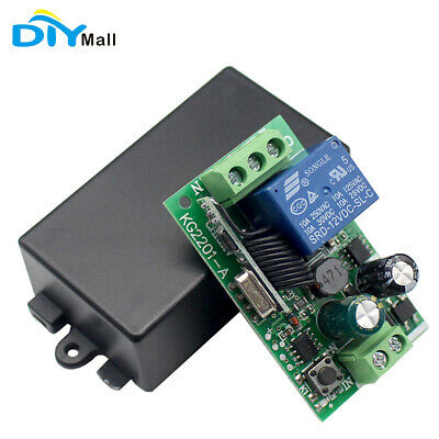 1CH Relay Module Wireless Remote Control Switch AC 85V 110V 220V for 433MHz RF