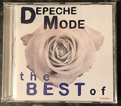 Depeche Mode The Best Of Volume 1 Music Cd Album As Good As New Mint Condition