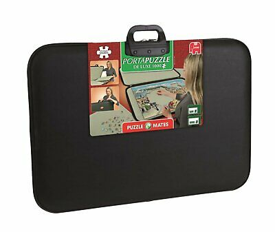 Jigsaw Puzzle Storage Quality Board Portable Safe Holder 1500 Pieces Carry Case