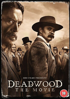 Deadwood The Movie [2019] (DVD) Timothy Olyphant, Ian McShane, Molly Parker