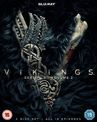 Vikings Season 5 Volume 2 (Blu-ray) Gustaf Skarsgård, Katheryn Winnick