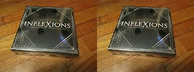 TWO Game of Thrones Inflexions Special Edition Factory Sealed US HOBBY BOX x2