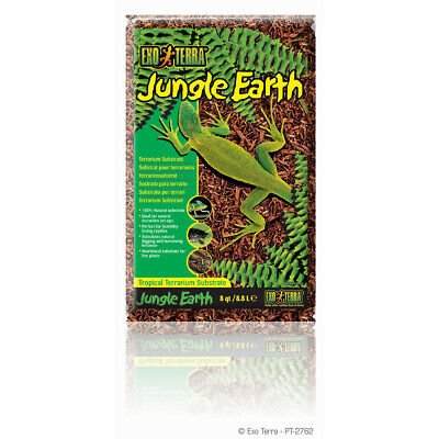 Exo Terra Jungle Terre - Naturel Terrarium-Substrat, 8,8 L