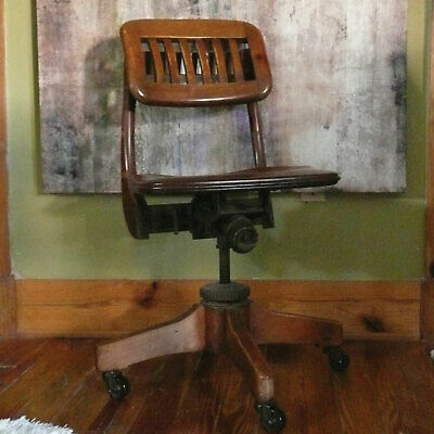 Antique Swivel Office Chair | Amazing Comfort | Excellent Working Condition
