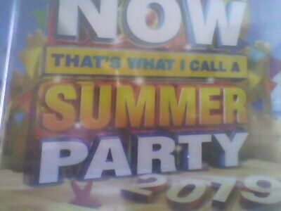 Now Thats What I Call a Summer Party 2019 [CD] new sealed free post
