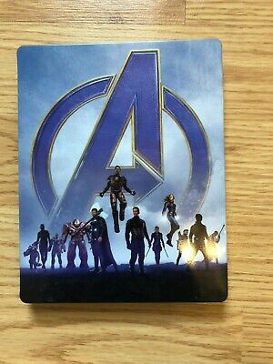 New STEELBOOK Avengers ENGAME 4K ULTRA HD Case and 4K ONLY! No digital or bluray