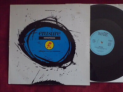 Erasure- Sometimes + 2       klasse German Mute Maxi