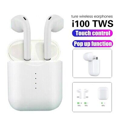 New i100 TWS 2019 Pop up Bluetooth 5.0 V5 headset Sports Touch Control Wireless