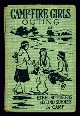 Campfire Girls Outing - Ethel 2nd Summer in Camp Book