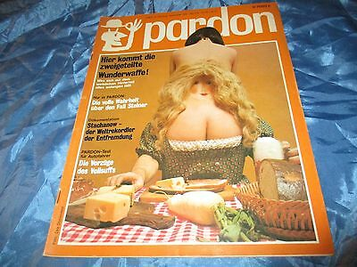 PARDON , September 1973 , Politische Satire / Parodie , Comic Strips  , # 3 / 17