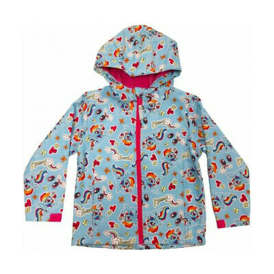 Official Kids Characters Soft Shell Full Zip Hooded Jacket Boys & Girls Coat