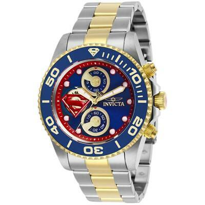Invicta DC COMICS SUPERMAN Men's Chronograph Limited Edition 43mm Watch 29063
