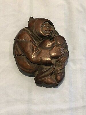 Medieval Monk Reproduction Lincoln Cathedral Carving (Handmade)