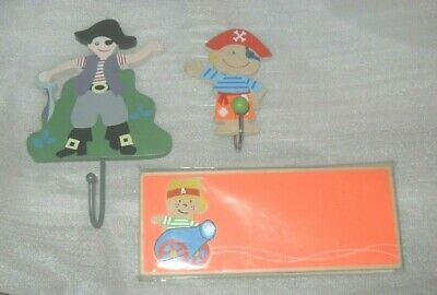 Pirate Coat Hooks for Bedroom or Nursery