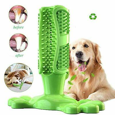 AIDIYA Dog Toothbrush Toy for Dogs' Oral Care Dog Brushing Stick Effective Doggy