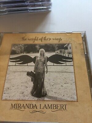 Miranda Lambert Cd The Weight Of These Wings. Two CDs.  B93