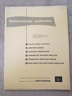 Semiconductor Electronics 1961 Sorensen Space Technology Laboratories, Inc.