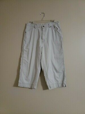 Riveted By Lee Khaki Capri Cropped Pants Size 14 FREE SHIPPING