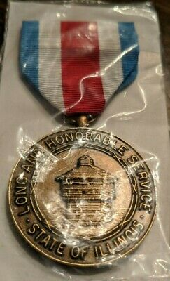 National Guard Long and Honorable Service Medal - State of Illinois