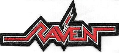 Raven (band) heavy metal Embroidered Patch Iron-On Sew-On fast US shipping