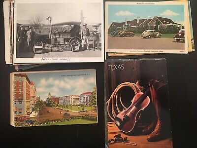 •• Lot Of 100 Postcards Great Mix For New Collectors Most 1940-1990 Linen Chrome