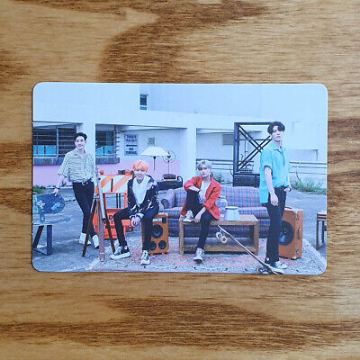 The Rose Official Group Photocard 3rd Single Album RED Genuine Kpop