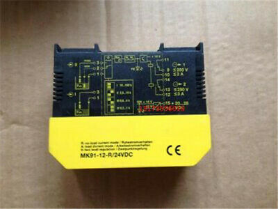 1PCS USED For Turck Safety Barrier MK91-12-R-24VDC #Q8026 ZX