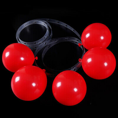5M Balloon Strip Arch Garland Connect DIY Chain Tape Party Decorate