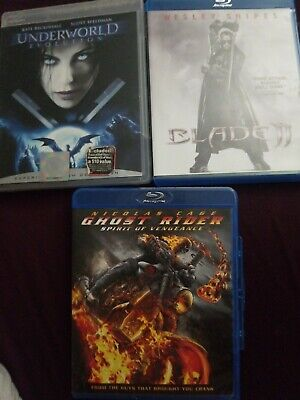 MARVEL MOVIES LOT 5 Dvds(X2/Ghost Rider/The Amazing
