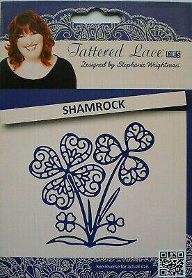 Tattered Lace Noble Shamrock Die Set