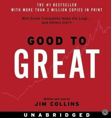 Good to Great; Why Some Companies Make the Leap(8 CDs) Preowned Untested