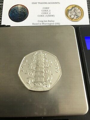 50p FIFTY PENCE 2009 KEW GARDENS - IN VERY GOOD CONDITION AS PER DESCRIPTION SAT