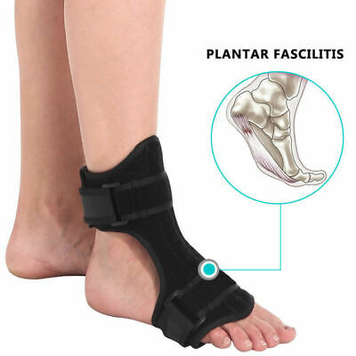 Effective Plantar Fasciitis Night Splint Foot Drop Brace For Heel Pain Relief US