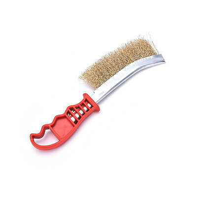 Heavy Duty Spid Wire Hand Brush Stainless Steel Bristles Rust Paint Removal、New