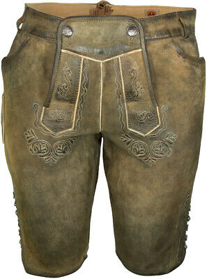 Maddox short Women's Leather Pants Fine Antique Ziller Braun Costume% Sale %