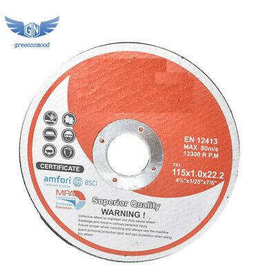 """25 Pack 4-1/2""""x.040""""x7/8"""" Cut-off Wheel - Metal & Stainless Steel Cutting Discs"""