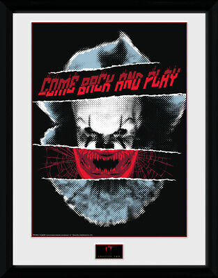 IT Chapter 2 Play Framed Photographic Print 30.5x41cm 16x12 inches