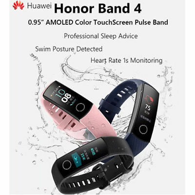 "Huawei Honor Band 4 Reloj Intelligent 0.95"" AMOLED Color Medidores de actividad"
