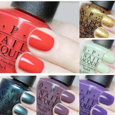 OPI New Nail Lacquer Polish 2015 Spring Summer Collection Gel