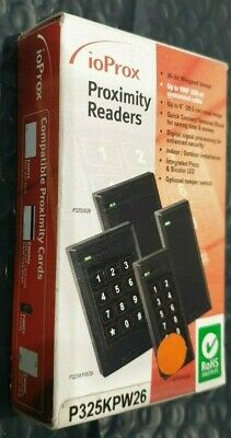 New Kantech P325KPW26 ioProx Card Reader with integrated Keypad Brand new