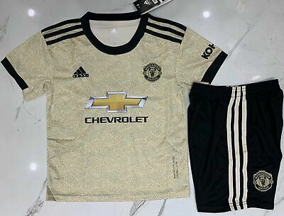 2019-2020 New Football Kits Soccer Suits Kids Adults Jersey Strip Sports Outfit