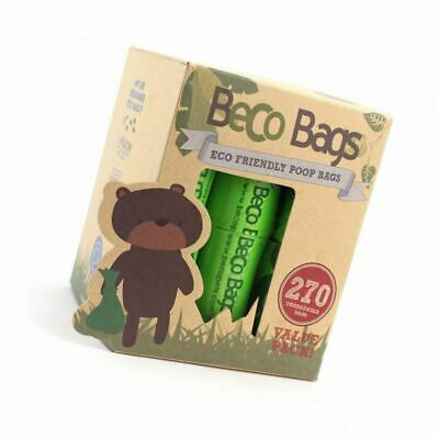 Beco Bags - Value Pack - 270 Strong Large Poop for Dogs - Eco Friendly and Degra
